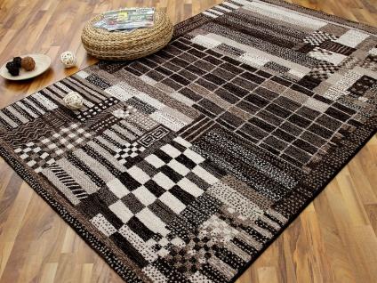 Designer Teppich Arizona Modern Braun