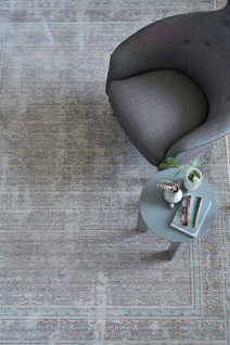 Orient Vintage Designer Teppich Schöner Wohnen Shining Bordüre Beige