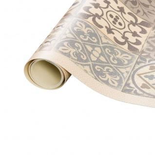 Vinyl Teppich Küchenläufer Evora Fliesenoptik Beige - Vorschau 4