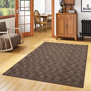 Streifenberber Teppich Modern Stripes Braun