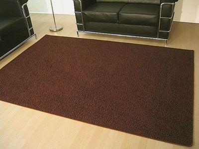 Teppich Hochflor Shaggy Prestige Braun in 22 Größen