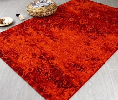 Designer Teppich Arizona Indie Rot