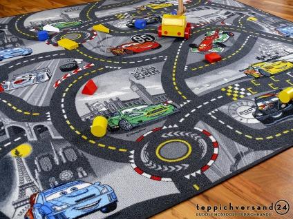 Kinder Spielteppich Disney Cars Grau in 24 Größen - Vorschau 2