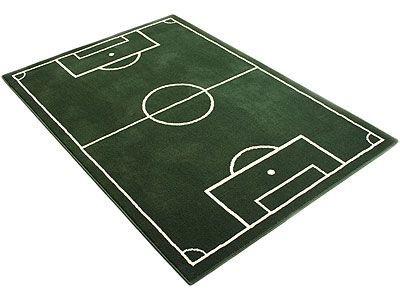 Kinder und Spielteppich Trendline Fußballfeld - ABVERKAUF