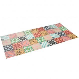 Vinyl Teppich Küchenläufer Evora Mosaik Fliesenoptik Bunt - Vorschau 2