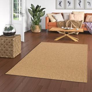 In & Outdoor Teppich Flachgewebe Natur Panama Nuss Mix
