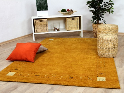 Natur Teppich Indo Gabbeh Indira Rost
