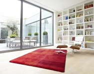 Astra Luxus Teppich Livorno Rot Trend