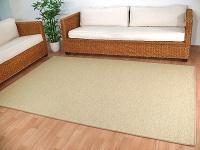 Teppich Bentzon Flachgewebe Sand in 24 Größen