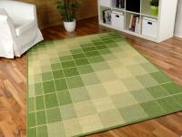 Teppich Flachgewebe Ruggy Grün Beige