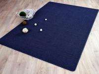 Sisal Natur Teppich Astra Blau in 24 Größen