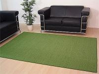 Sisal Natur Teppich Astra Grün in 24 Größen