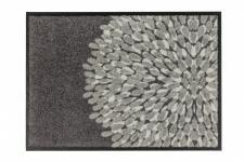 Fußmatte Schöner Wohnen Broadway Blume Grau in 2 Größen