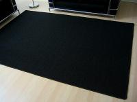 Sisal Natur Teppich Astra Schwarz in 24 Größen