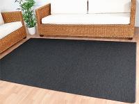 Teppich Bentzon Flachgewebe Anthrazit in 24 Größen