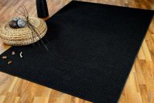 Sisal Natur Teppich Sisalo Schwarz Mix in 24 Größen