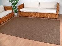 Teppich Bentzon Flachgewebe Braun in 22 Größen