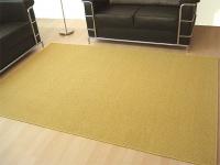Sisal Natur Teppich Astra Honig in 24 Größen