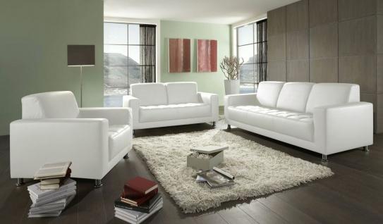 3-teilige Couchgarnitur 2-Sitzer 3-Sitzer Sofa Sessel Polstergarnitur 3 Farben 2 Bezüge DO-Abriola-2