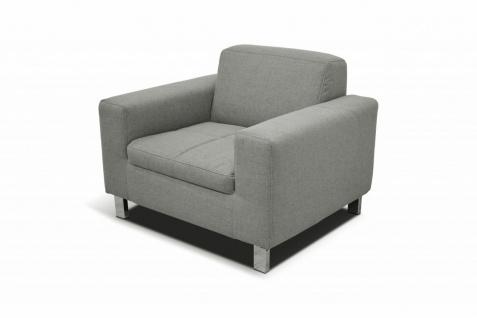 3-tlg. Couchgarnitur 2-Sitzer 3-Sitzer Sofa Sessel Polstergarnitur 4 Farben 2 Stoffe DO-Salandra - Vorschau 4