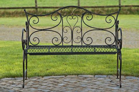 Gartenbank Metall 5 Farben antik CL-Tori - Vorschau 3