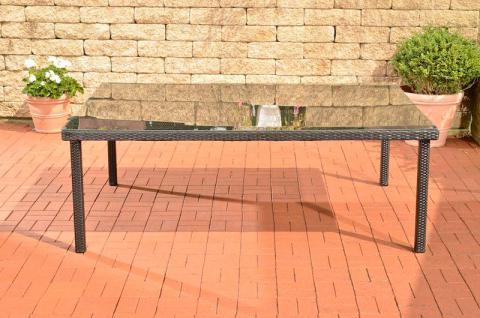 XXL Gartentisch 4 Farben Polyrattan CL-Piazza-T - Vorschau 3