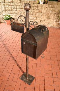 Briefkasten Nostalgie Eisen 6 antik Farben CL-Curacao