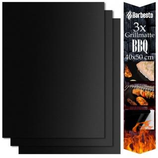 Grillmatten (3er Set) 40x50 cm