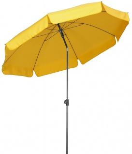 Sonnenschirm rund Ø 250 cm 7 Farben Knickgelenk BF-LasPalmas-2