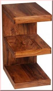 design beistelltisch regal massivholz 2 holzarten e cube konsole w e1304 kaufen bei eh m bel. Black Bedroom Furniture Sets. Home Design Ideas