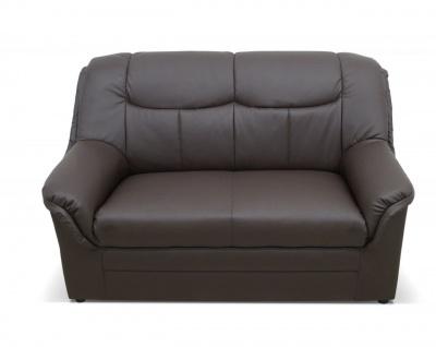 2-teilige Polstergarnitur 2-Sitzer Sofa 3-Sitzer Couch Federkern 3 Farben Kunstleder DO-Boston-3 - Vorschau 4