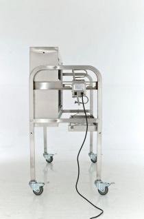 Grill Spanferkelgrill Holzkohlegrill bis 70 kg Edelstahl Rollen Motor CL-Bacon - Vorschau 5