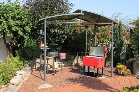 Grillpavillon 2 Größen Sommerküche Outdoor Küche LC-BBQ