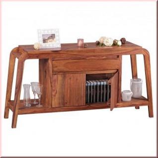 Sideboard Massivholz Design Kommode 2 Holzarten Akazie Sheesham Unikat handgefertigt W-K151749