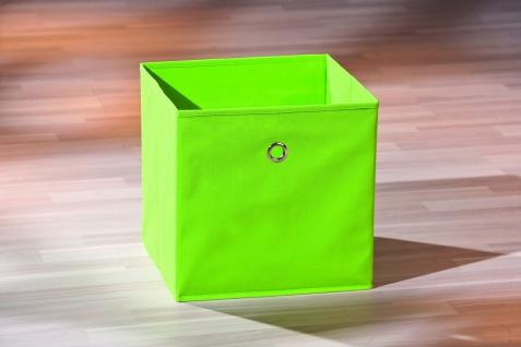 Aufbewahrungsbox Faltbox Faltkiste 10 Farben 32 x 32 x 32 cm L-Wicky - Vorschau 1