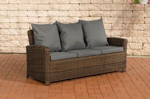 Sofa 3er Fisolo Eisengrau 5mm