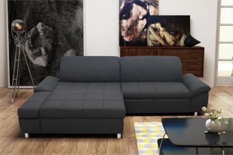 Ecksofa multifunktional Sitz- Rücken- Armlehnen- Bettfunktion Polsterecke DO-Myra