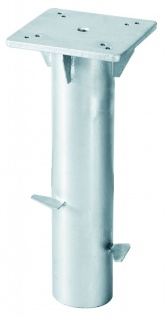 Universal-Bodenplatte 160x160mm verzinkt