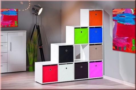 Aufbewahrungsbox Faltbox Faltkiste 10 Farben 32 x 32 x 32 cm L-Wicky - Vorschau 3