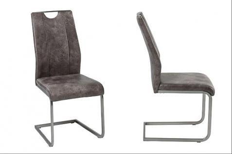4x Stuhl Stuhlset Freischwinger 2 Farben Stühle R-Taifun