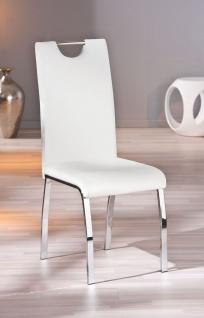 Stuhlset 2-tlg. Stuhl 3 Farben 4-Bein-Metallgestell L-Tobago