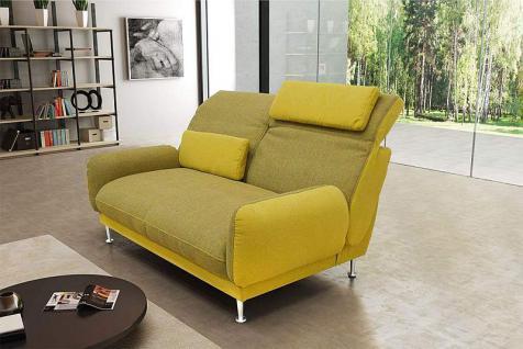 Sofa inkl. Kissen 2 Farbkombinationen Materialmix DO-Bionda-1 - Vorschau 2