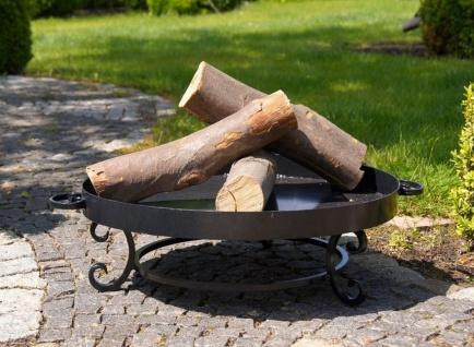 Feuerschale 3 Größen 2 Varianten Stahl Standfuß mittig Feuerstelle 60/70/80 cm N-P32