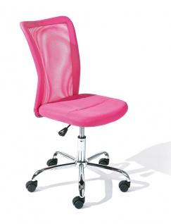 Schreibtischstuhl Drehstuhl Kinderschreibtischstuhl 4 Farben höhenverstellbar Gaslift L- Bianca