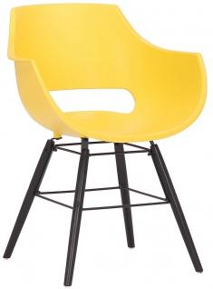 Stuhl Skien Kunststoff schwarz