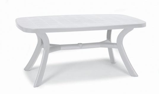 Gartentisch XL Tisch oval 192 x 105 cm 6 Farben 4-Bein Boulevard-Gestell BF-Korfu-3
