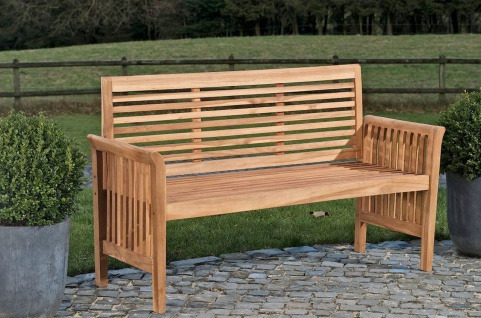teak gartenbank 180 online bestellen bei yatego. Black Bedroom Furniture Sets. Home Design Ideas