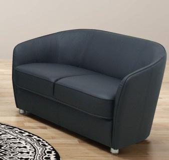 3-tlg. Couchgarnitur 2er Sofa 3er Couch Sessel Federkern Farbwahl DO-Celia - Vorschau 3
