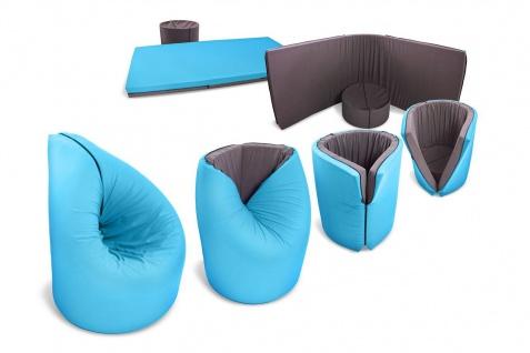 Paqbed multifunktionaler Sitzsack Sitz- Schlafkombination Indoor Outdoor 5 Farben