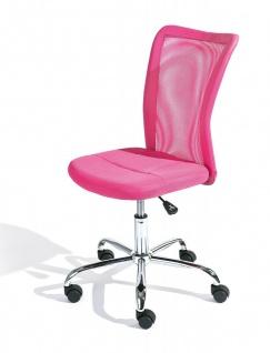 Kinder-Schreibtischstuhl Farben blau grün grau pink Drehstuhl höhenverstellbar Gaslift L-Bianca
